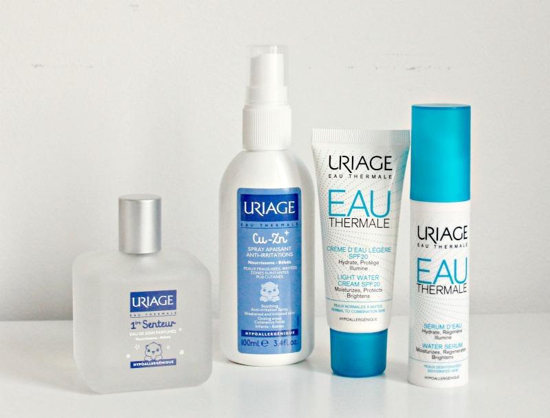 Beauty novosti avgust 2017 - Uriage